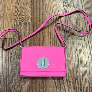 Kate Spade pink cross body bag